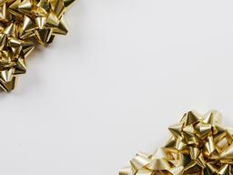 Gold Christmas Bows  image 3