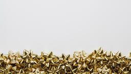 Gold Christmas Bows  image 5