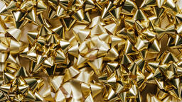 Gold Christmas Bows  image 6