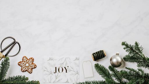 Christmas Card station