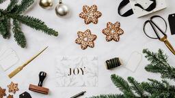 Christmas Card station  image 2