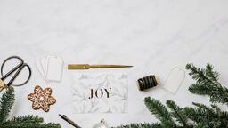 Christmas Card station  image 3