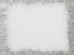Border of Silver Glitter  image 1