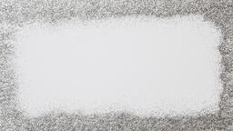 Border of Silver Glitter  image 2