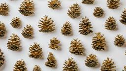 Gold Pinecones  image 2