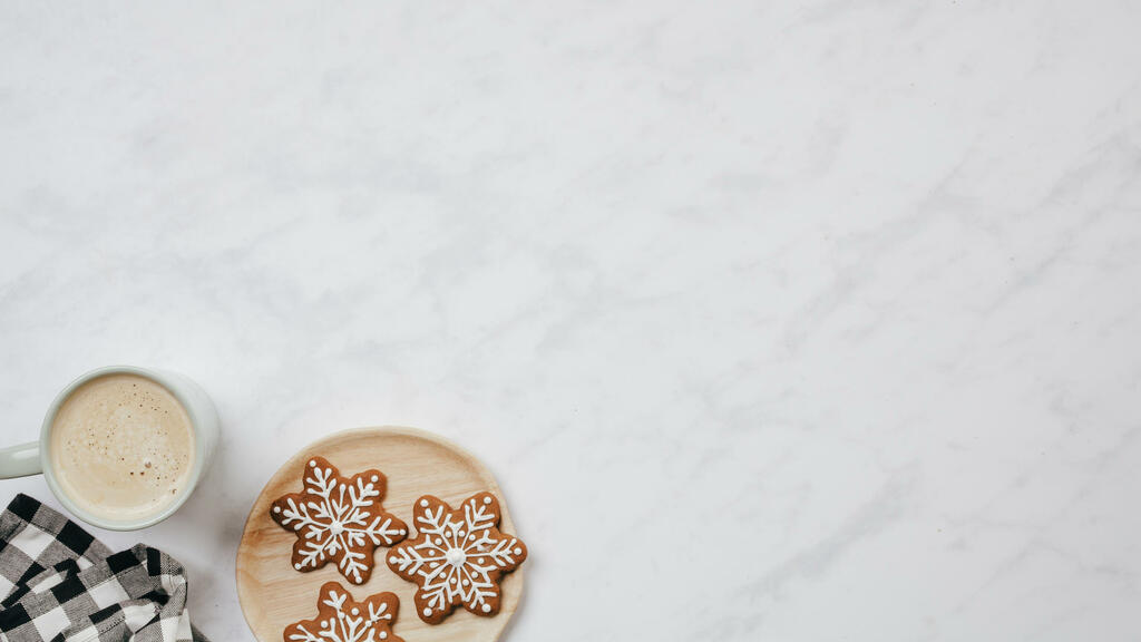 Coffee and Gingerbread Cookies large preview