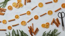 Orange and Cinnamon Stick Garland  image 2