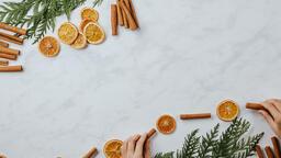Orange and Cinnamon Stick Garland  image 4