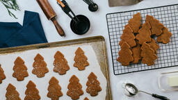 Baking Gingerbread Cookies  image 1