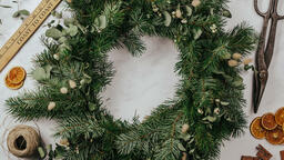 Christmas Wreath Making  image 1