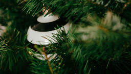 Striped Christmas Ornament  image 2