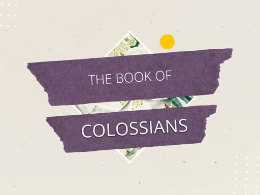 """Colossians 1 """"Expect Some Changes"""""""