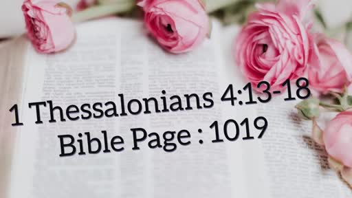 10.30 (01/12/2019) (SPRING 2019) - Week 1 new order  Communion