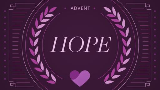 Advent Series Hope