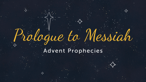 Advent: Second Coming   Rebecca Prewett   December 1, 2019