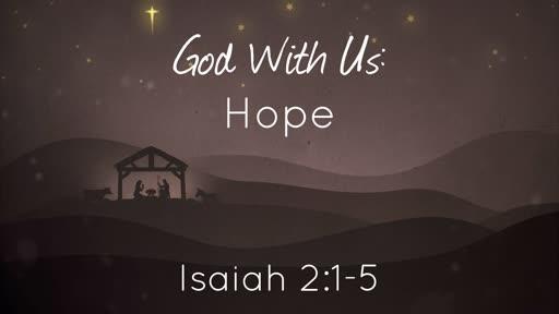 God With Us: Hope