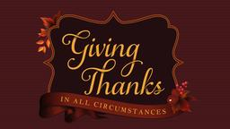 Giving Thanks  PowerPoint Photoshop image 1
