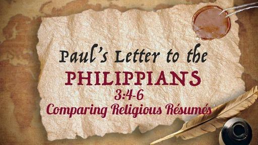 December 1, 2019 - Comparing Religious Résumés Pt. 2