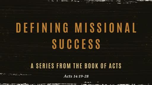Defining Missional Success