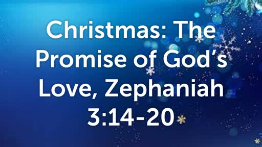 Christmas: The Promise of God's Love