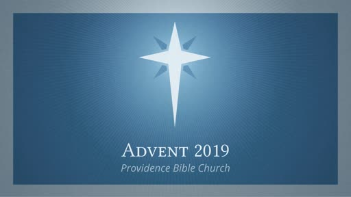 Hope Now Advent Week 1