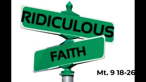 Ridiculous Faith 12/1 AM