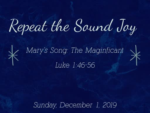 Mary's Song: The Maginifcant