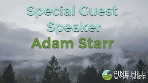 Special Guest Speaker - 10/2/2016