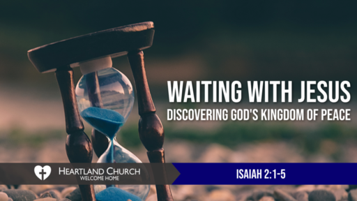 Waiting with Jesus
