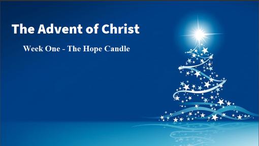 12/1/2019 - Advent Week 1