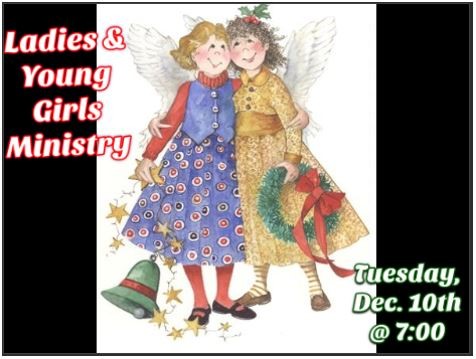 Ladies & Young Girls Ministry