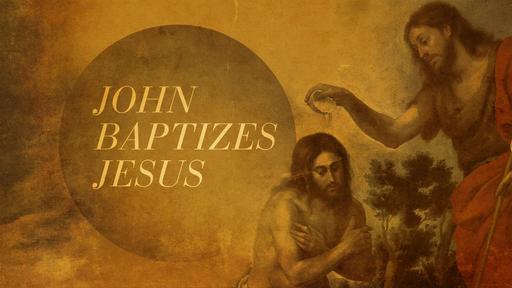 JOHN THE BAPTIST, HUMBLE SERVANT