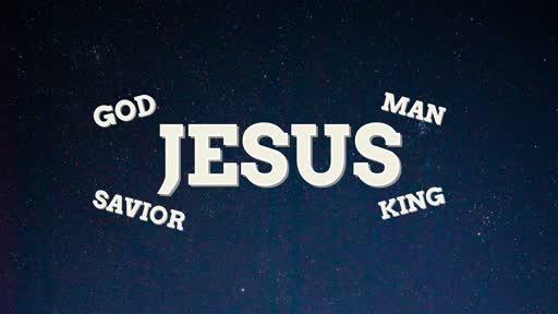 Jesus - fully man
