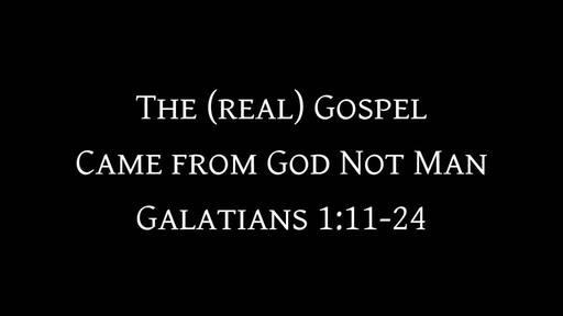 Galatians 1:11-24