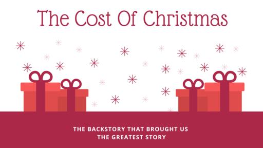 The Cost of Christmas - Joseph