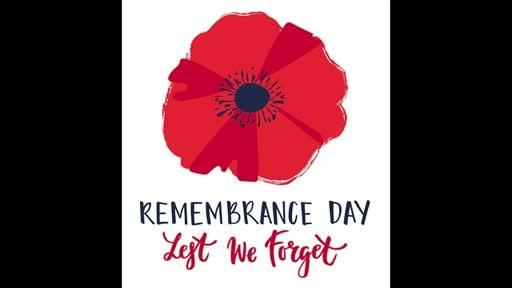 20191110 Remembrance Sunday