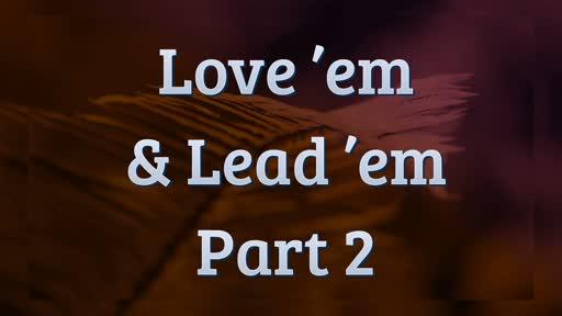Love 'em & Lead 'em 2