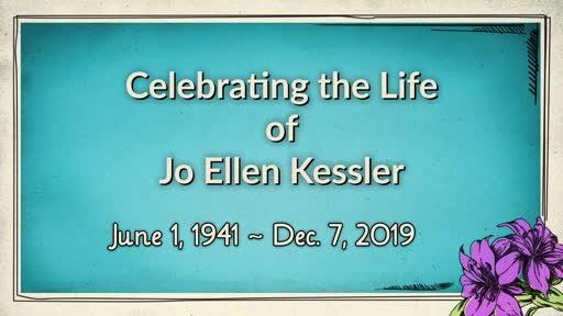 Jo Ellen Kessler Homegoing