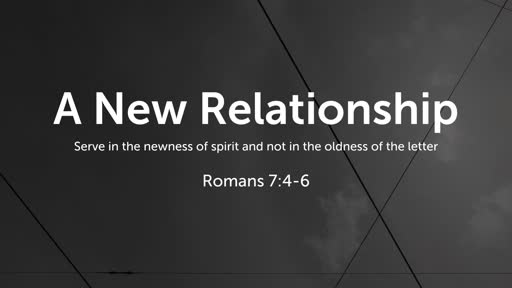 A New Relationship