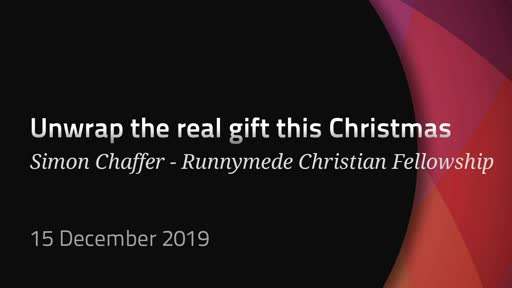 Unwrap the Real Gift this Christmas