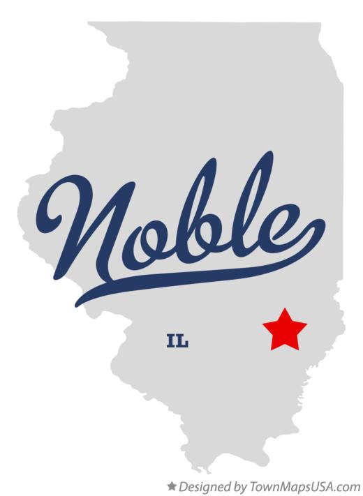 Map Of Noble Il