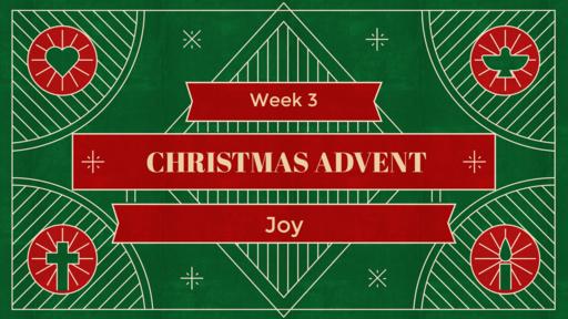 Christmas Advent Week 3