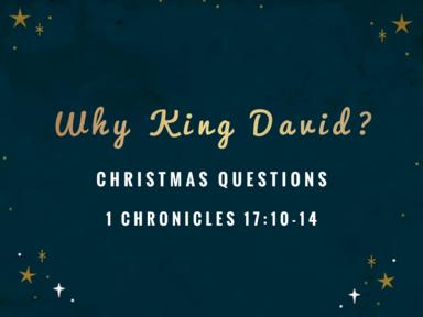 Why King David?