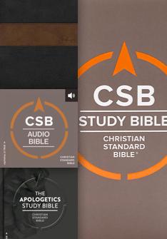 CSB Study Bible, Audio Bible, Apologetic Study Bible & Spurgeon Study Bible Notes
