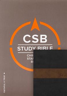 The CSB Study Bible + CSB Spurgeon Study Bible Notes