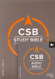 The CSB Study Bible + CSB Audio Bible