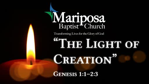 """The Light of Creation"" 