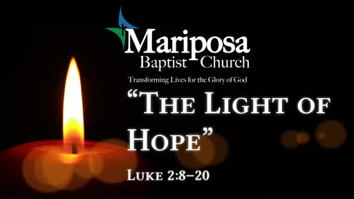 """The Light of Hope"" 