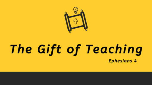 The Gift of Teaching