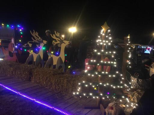 Remlik Wesleyan Church Christmas parade